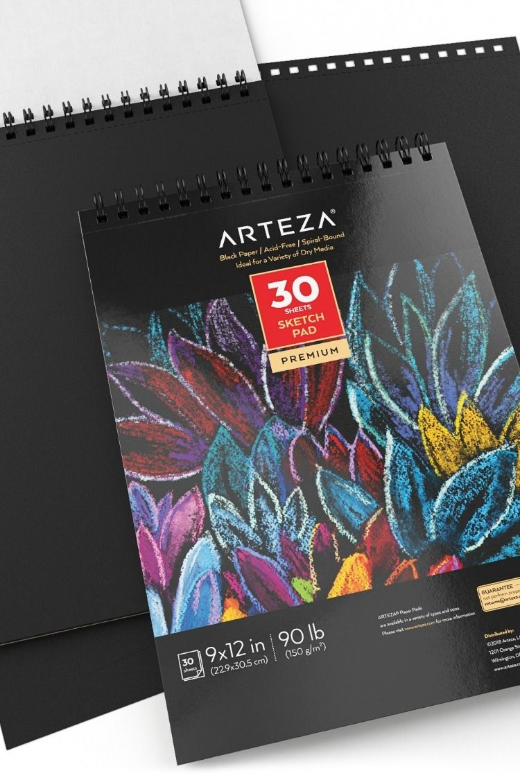 Find Top Quality Arteza Sketchbooks To Capture All Your Creative