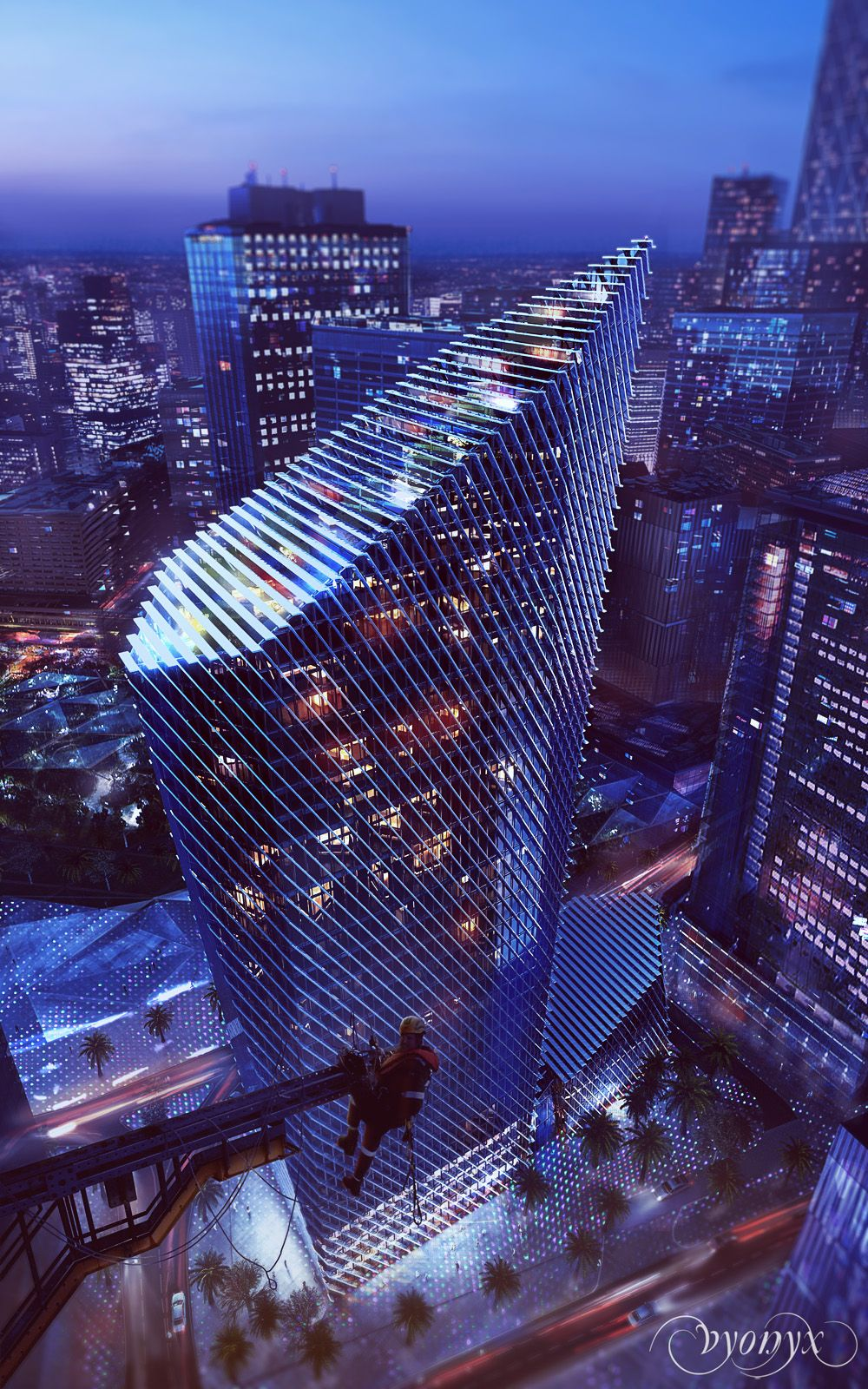 King Abdullah Financial District | Foster+Partners (Vyonyx