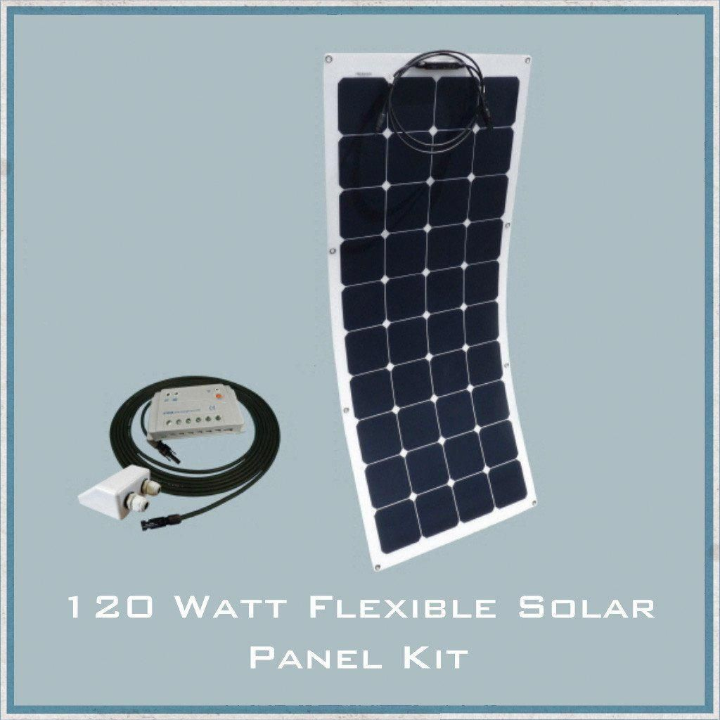 120w Flexible Solar Panel Campervan Caravan Motorhome Www Camperinteriors Co Uk Solarpanelkits Flexible Solar Panels Solar Energy Panels Best Solar Panels