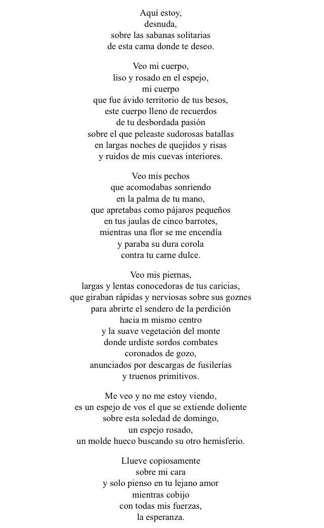 Gioconda Belli Erotismo Poético Poemas Versos Y Poetica