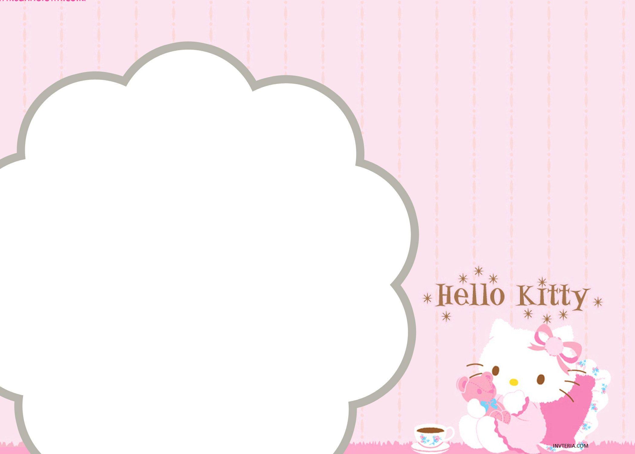 FINE FREE HELLO KITTY BIRTHDAY INVITATIONS EDITABLE