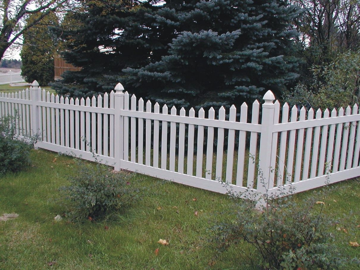 Robbie goddard discovering and sharing front yard fence ideas and white cedar wooden picket fence arched picket gate by elyria fence baanklon Images