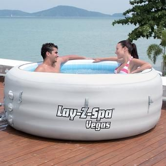 Lay Z Spa Vegas Hot Tub Inflatable Only 329 90 On Building