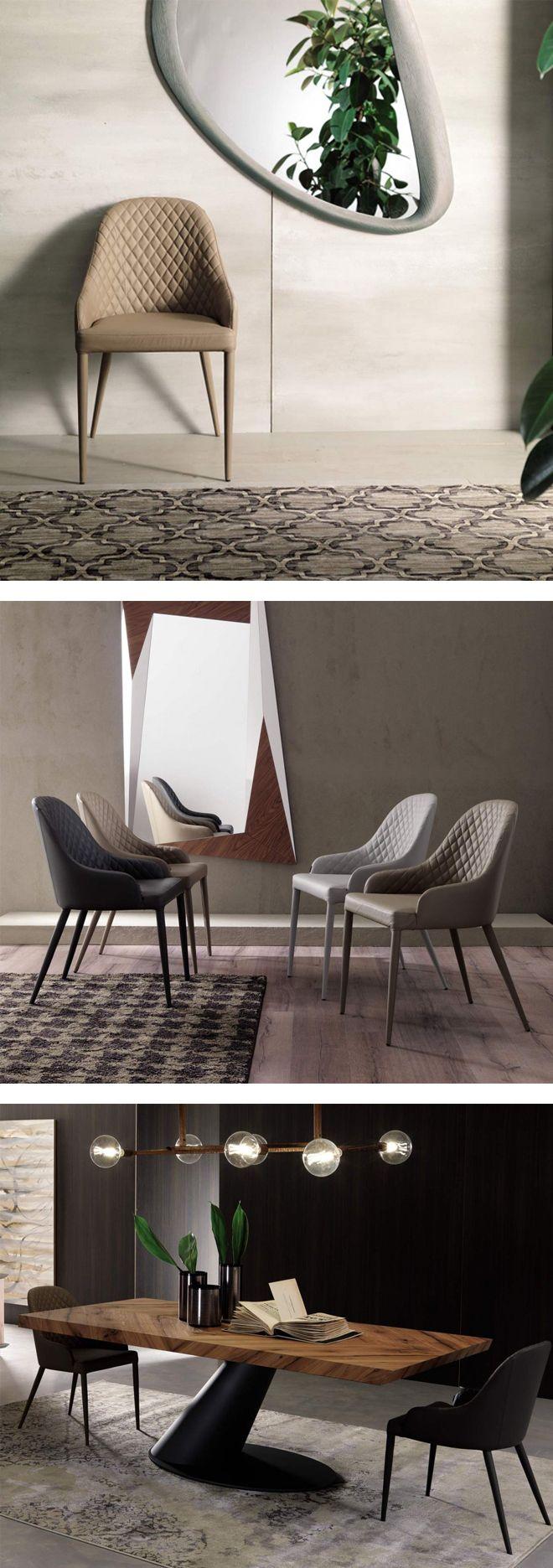 Ozzio Stuhl Betta | Lederstühle, Einrichtungsstile und Wohntrends