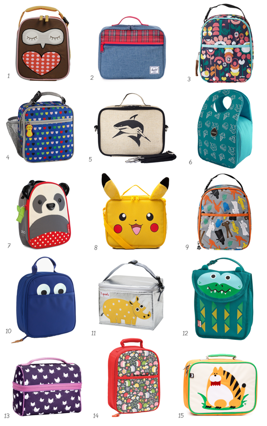 Best (  Cutest!) Kids Lunch Boxes and Lunch Bags  2b11a17110bb0