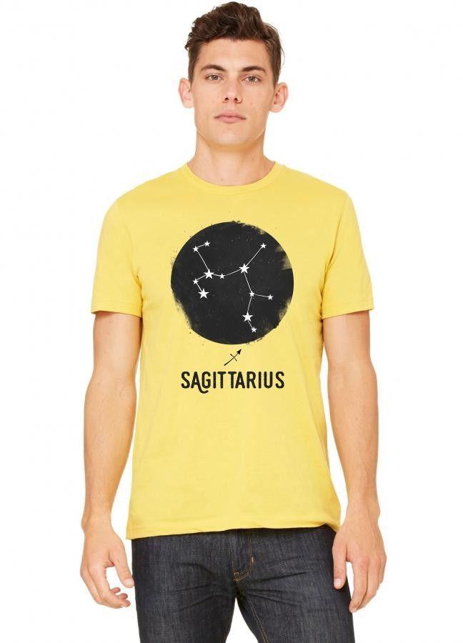 Minimal Sagittarius Zodiac Sign Tshirt