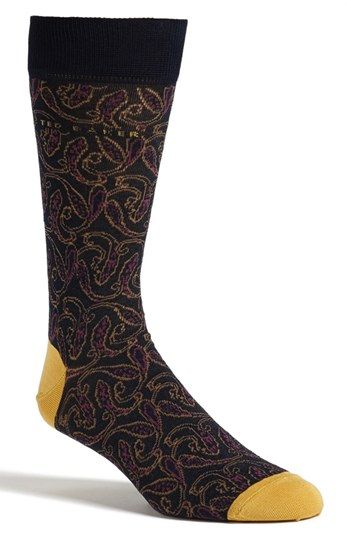 5bb0e9dc866a60 Ted Baker London Paisley Socks available at  Nordstrom