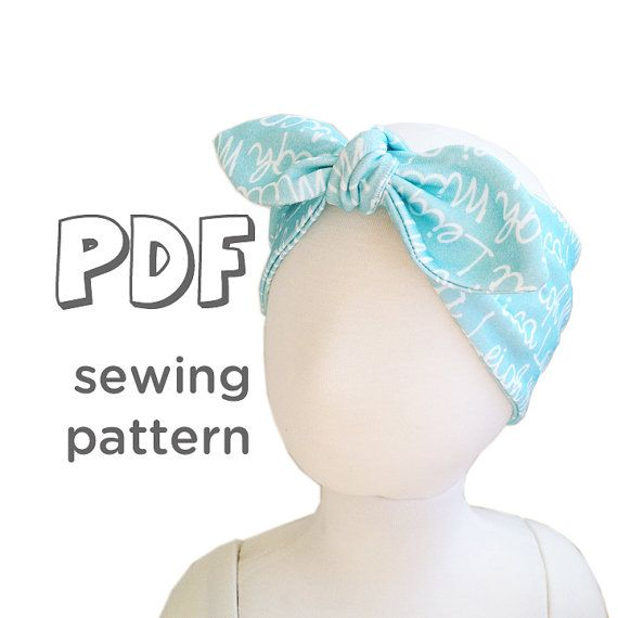 Extra Wide Knot Headband Pattern For Knits Pdf Pattern 5