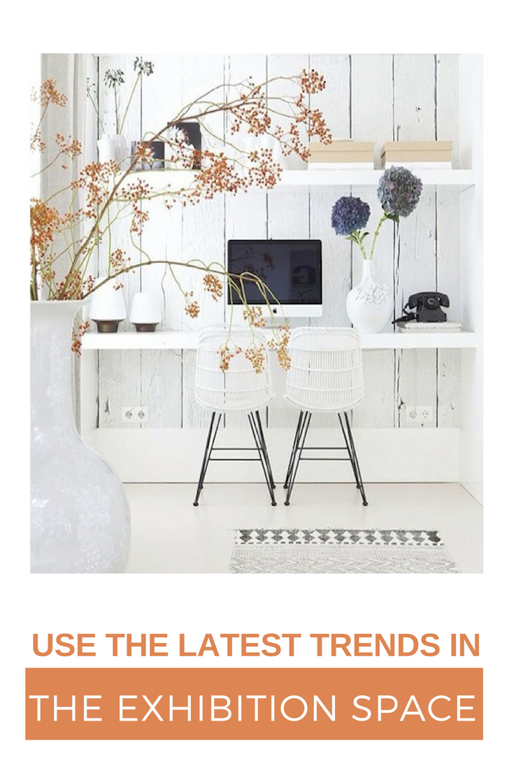 Use the latest trends in the exhibition space #eventprofs