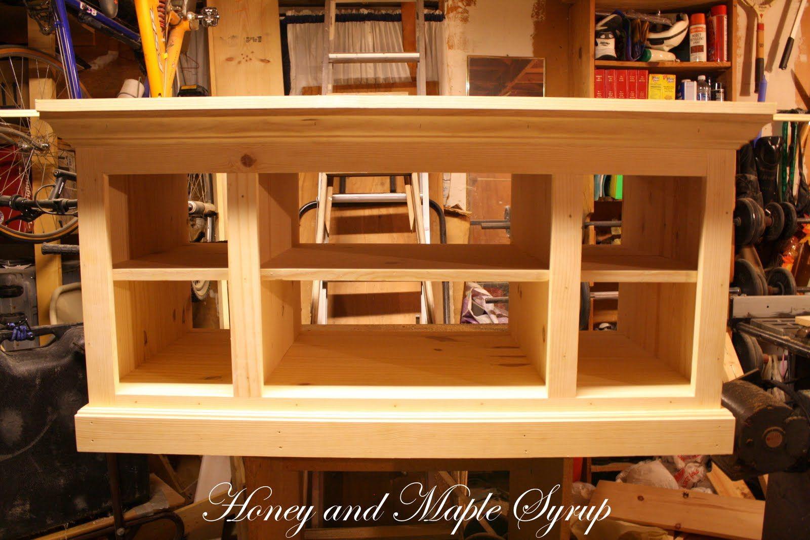 diy tv stand plans t v cabinet pinterest tv stands diy tv stand and diy tv. Black Bedroom Furniture Sets. Home Design Ideas