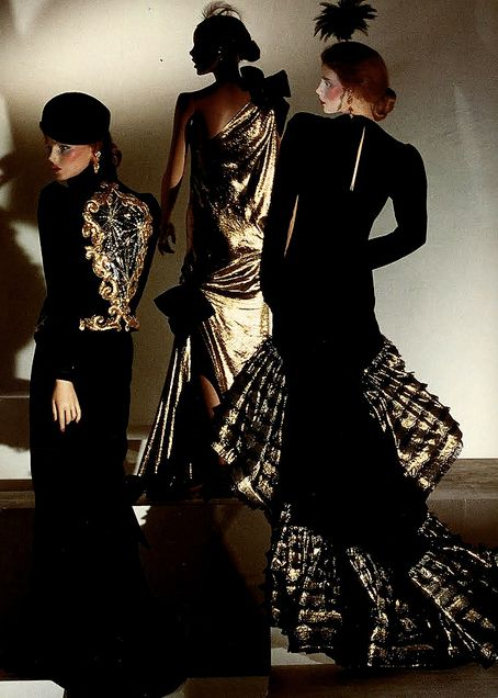Yves St Laurent Fashion French Fashion Designers 70s Vintage Fashion