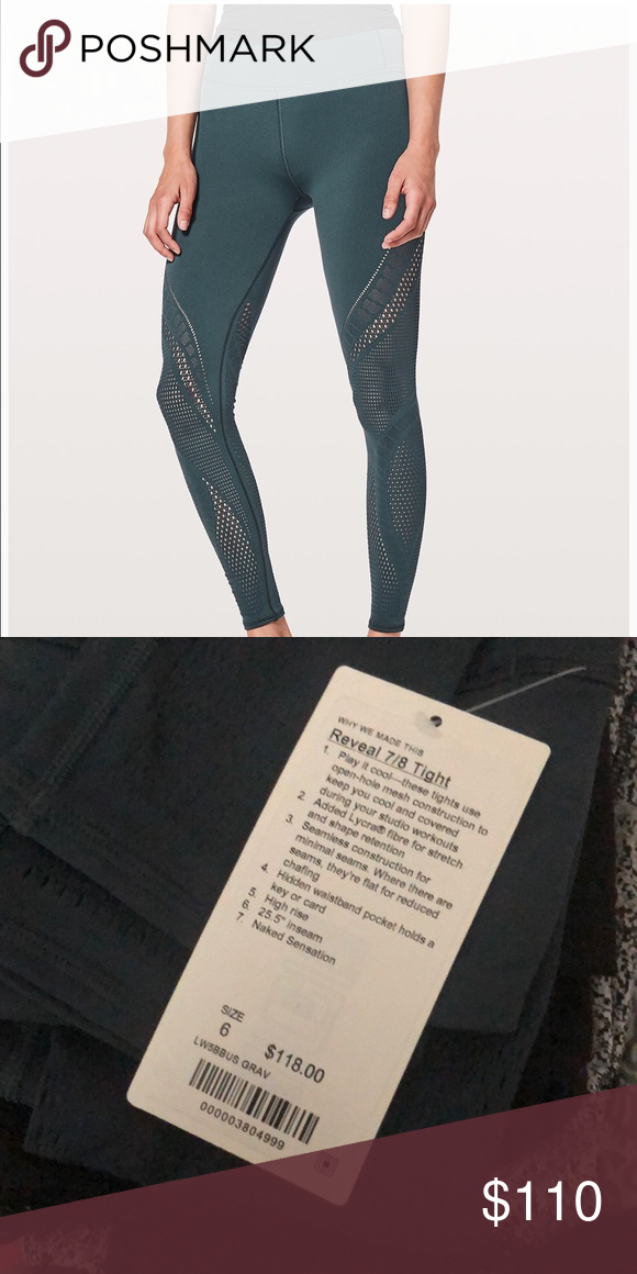 Reveal 7 8 Tight Lululemon Leggings Lululemon Leggings Leggings Are Not Pants Lulu Pants