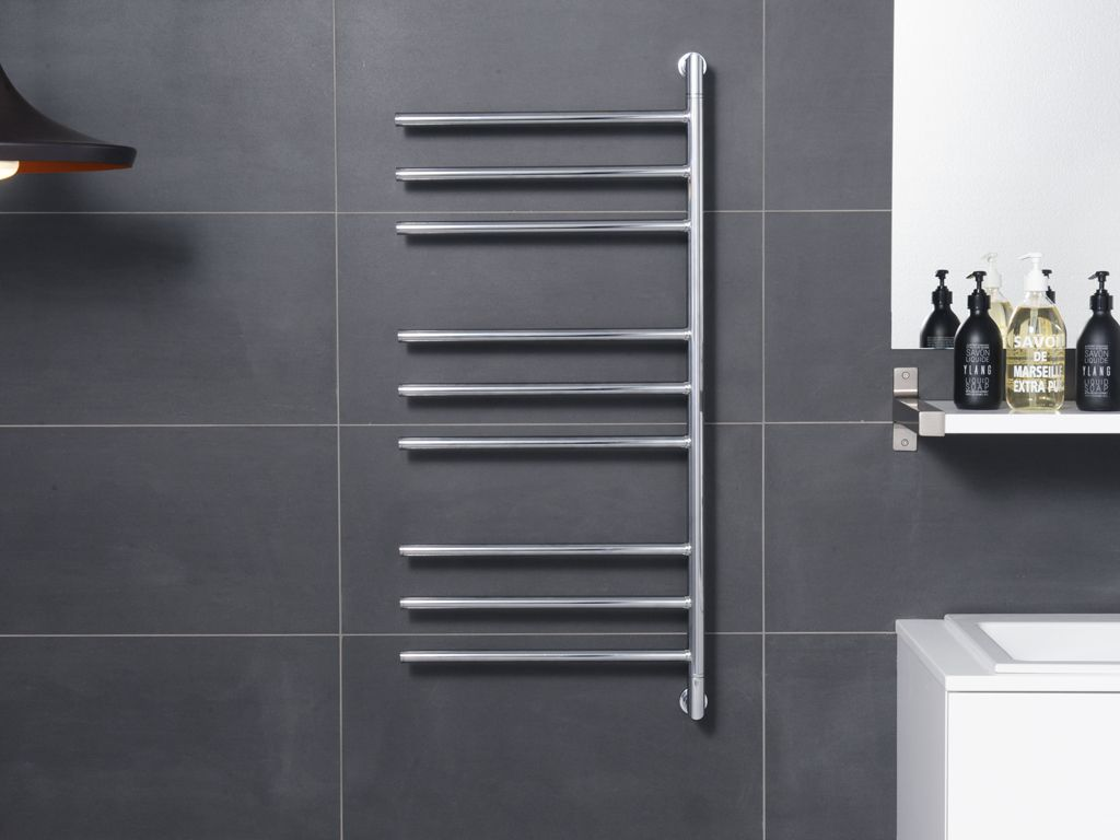 Hydrotherm Swivel 3 Series Heated Towel Rail 400mm Wide And 940mm High