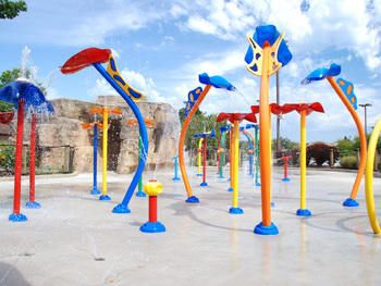 Water playgrounds in chicago
