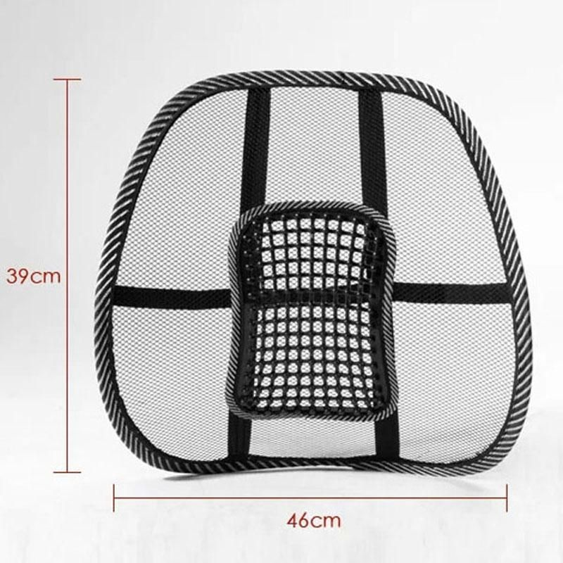 Back brace support massage cushions car seats lumbar