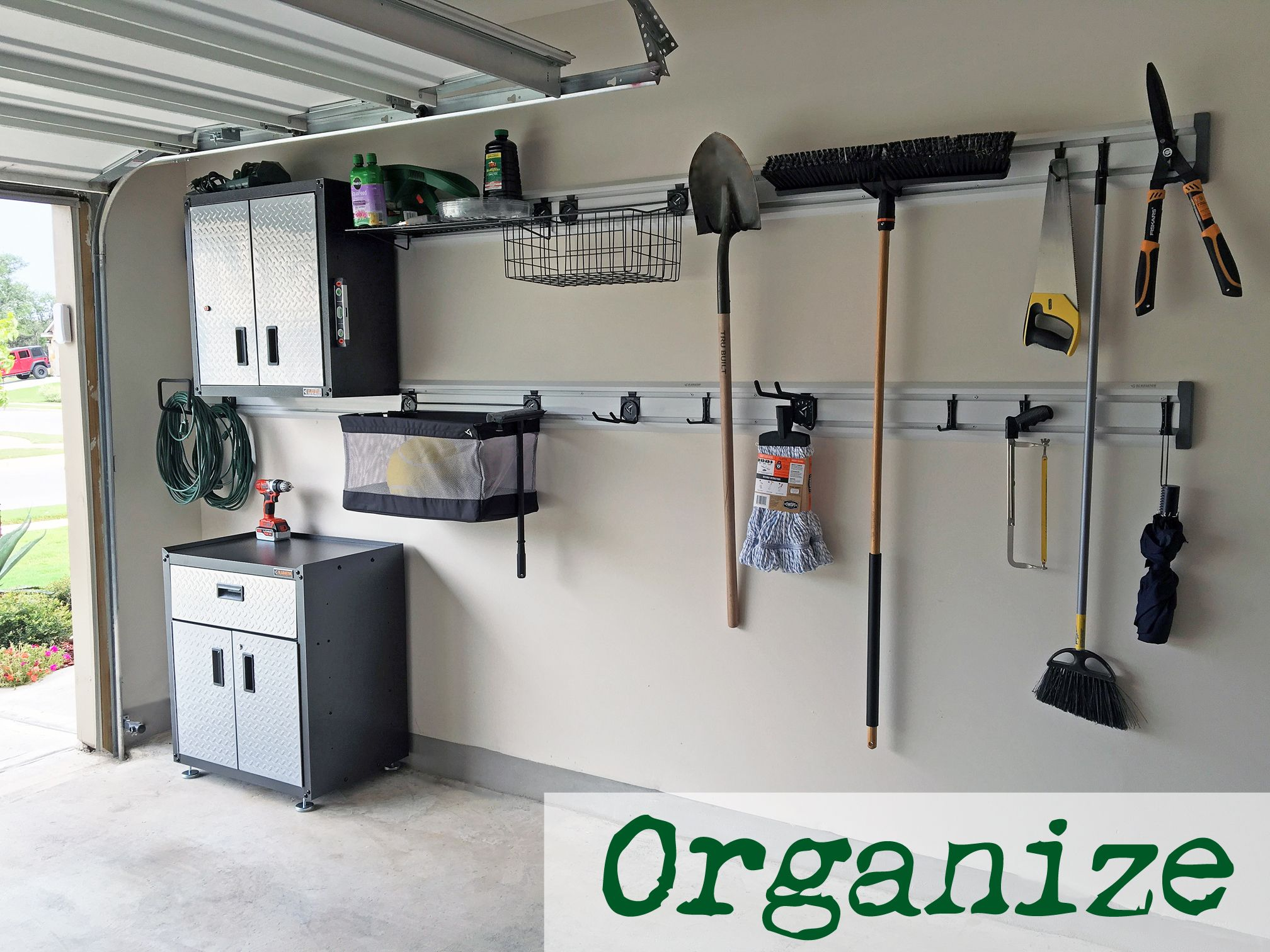 garage snap system when now storage a we re our garageworks installing gladiator pin cabinets was new