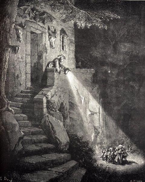 Le Petit Poucet - Charles Perrault - Gustave Dorée