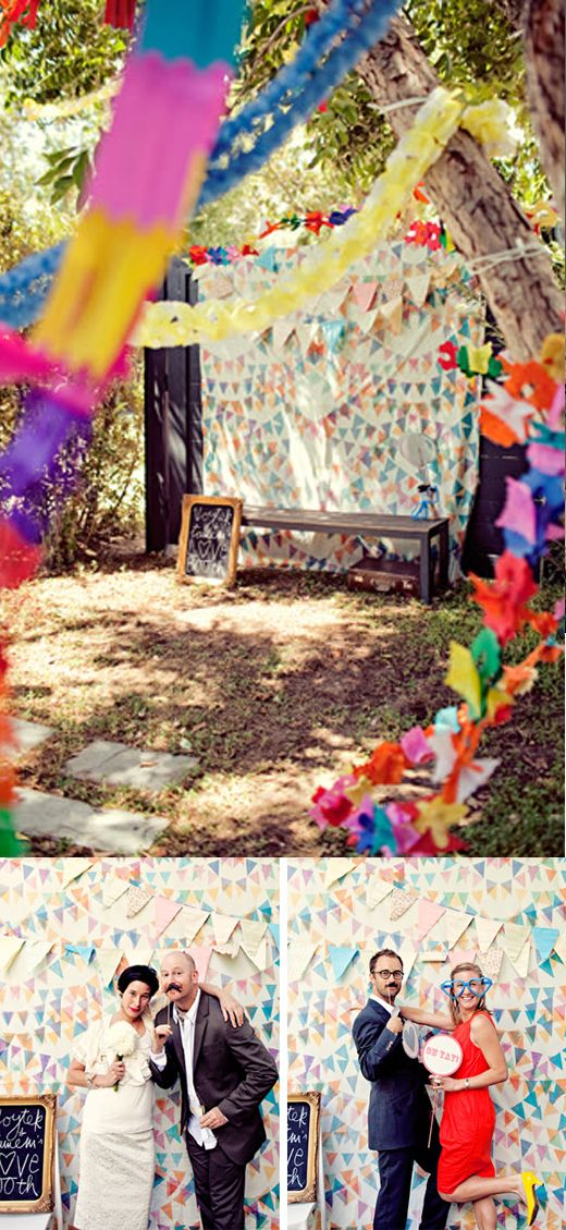 Wedding decoration ideas photobooth area ideas para la 10 of the best do it yourself wedding decoration ideas for your ceremony reception solutioingenieria Images