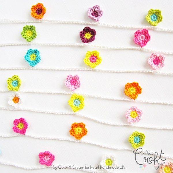 Crochet Flower Garland | crochet patterns | Pinterest | Hilo ...