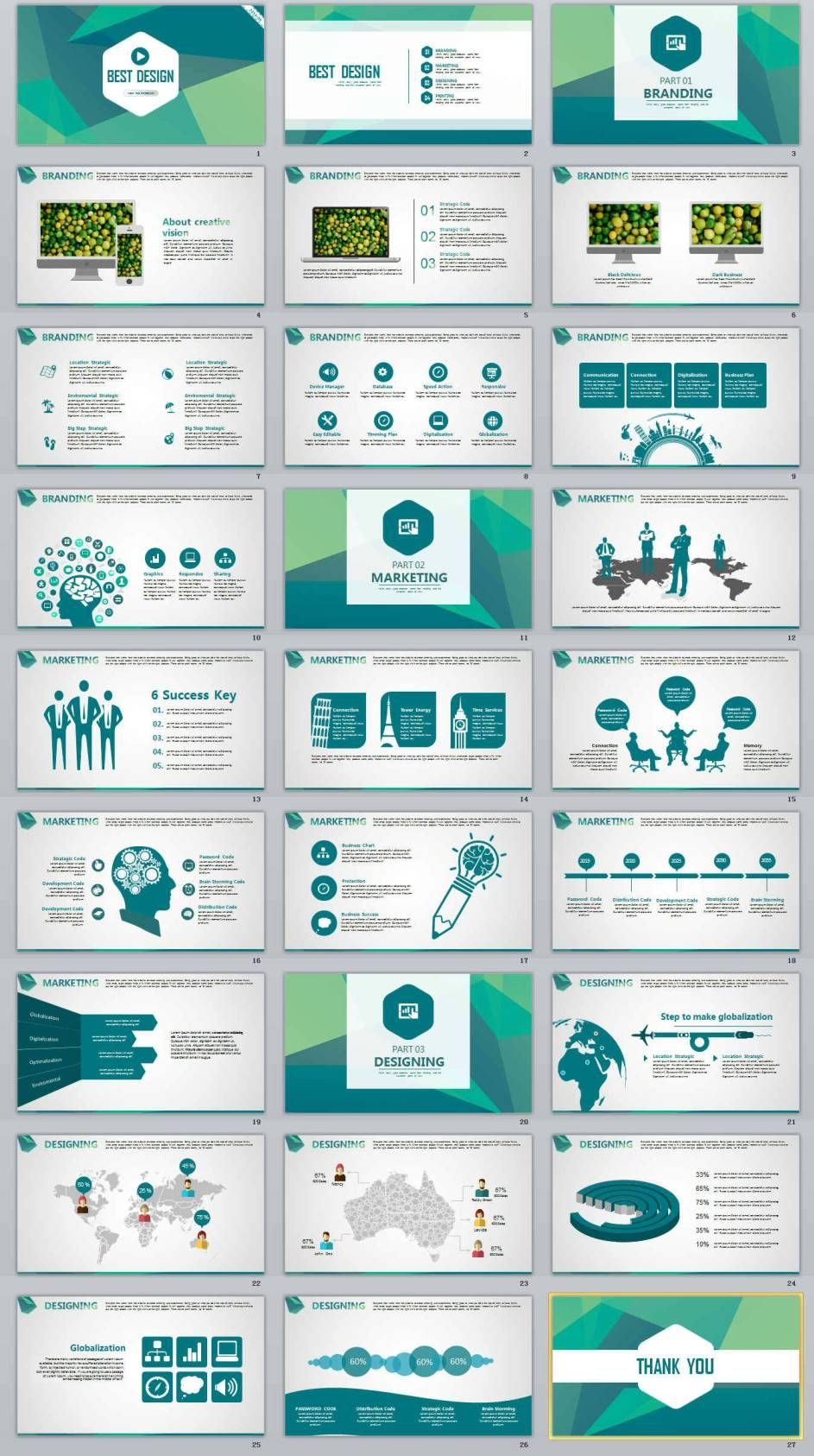 27 best design business professional powerpoint templates