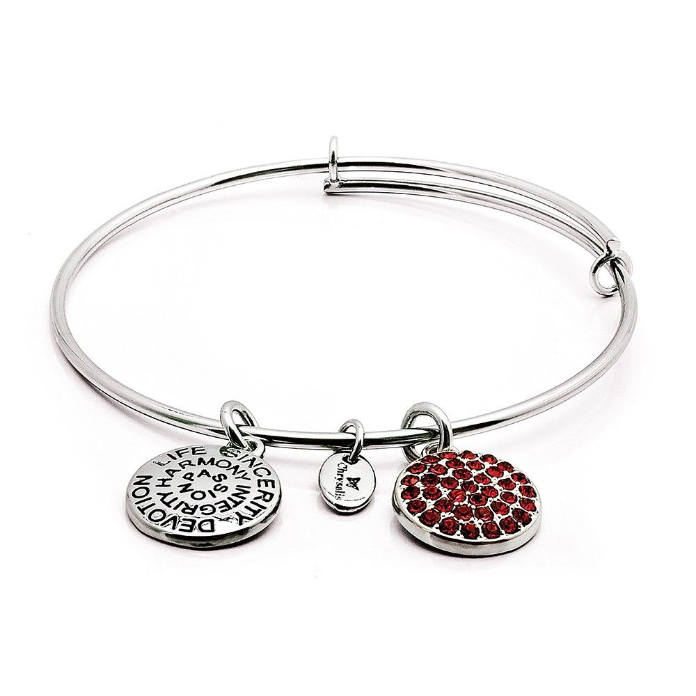 Adjustable July Birthstone Ruby Bracelet sxhFZ