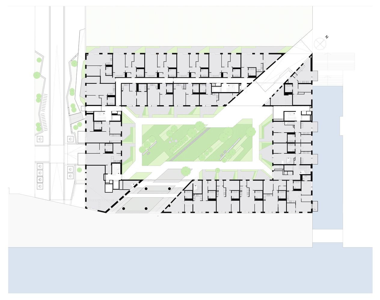 Sorenga Block 6 Floor Plan City Layout Floor Plans Office Building Architecture