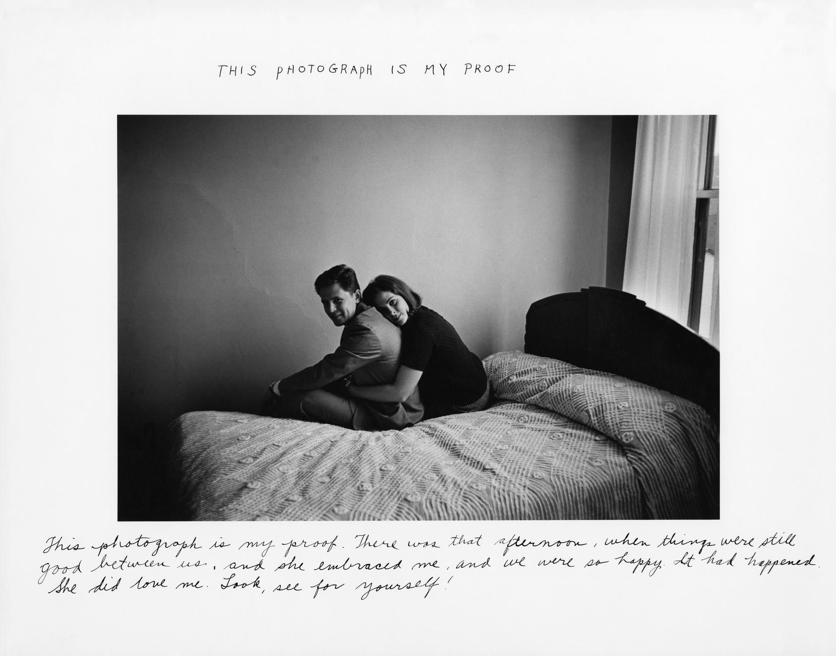 Duane Michals, 1967 This Photograph Is My Proof - | Duane michals, Duane,  Photographer