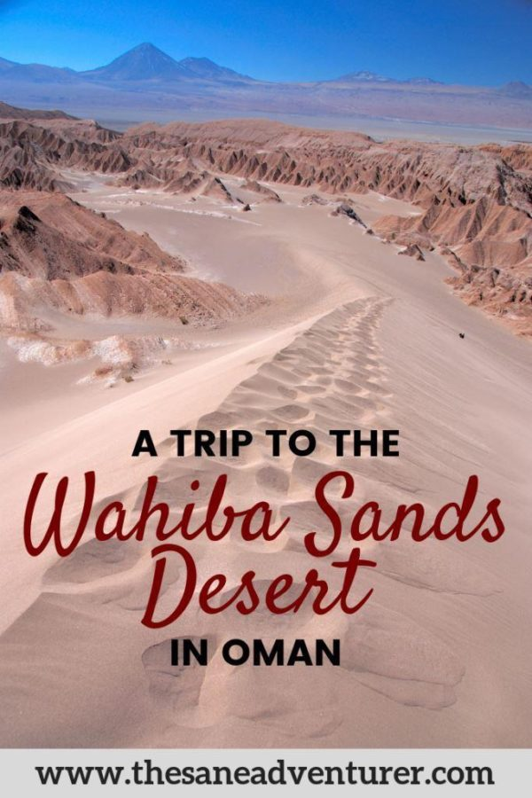 How To Visit Wahiba Sands Desert In Oman Without A 4WD #middleeast