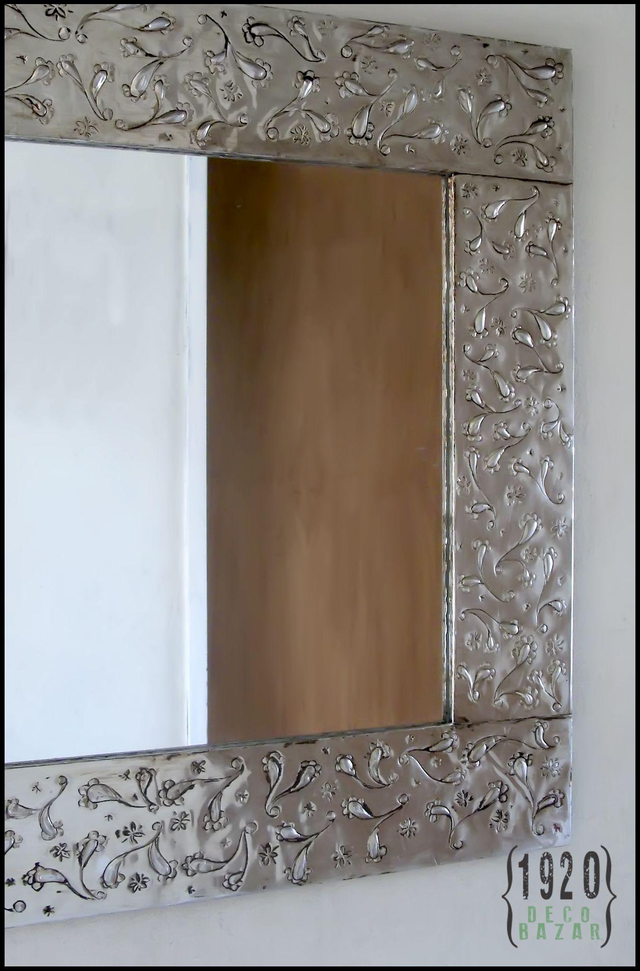 Marco espejo repujado buscar con google repujado - Espejo marco espejo ...