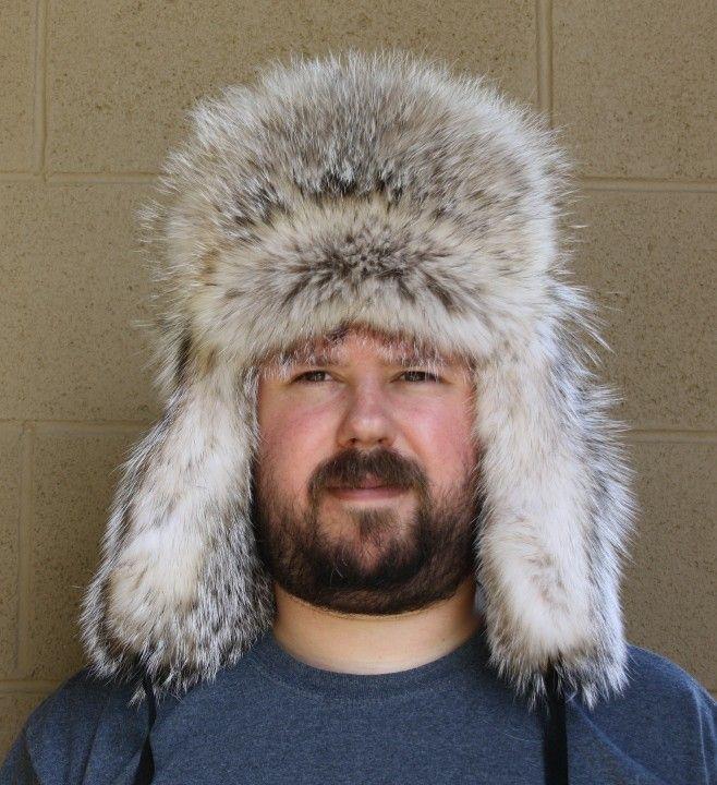 Men s and Women s Badger Trooper Style Fur Hat  e7af36743246