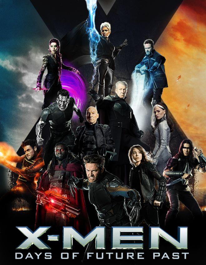 X-MEN DAYS OF FUTURE PAST by joseelizondo