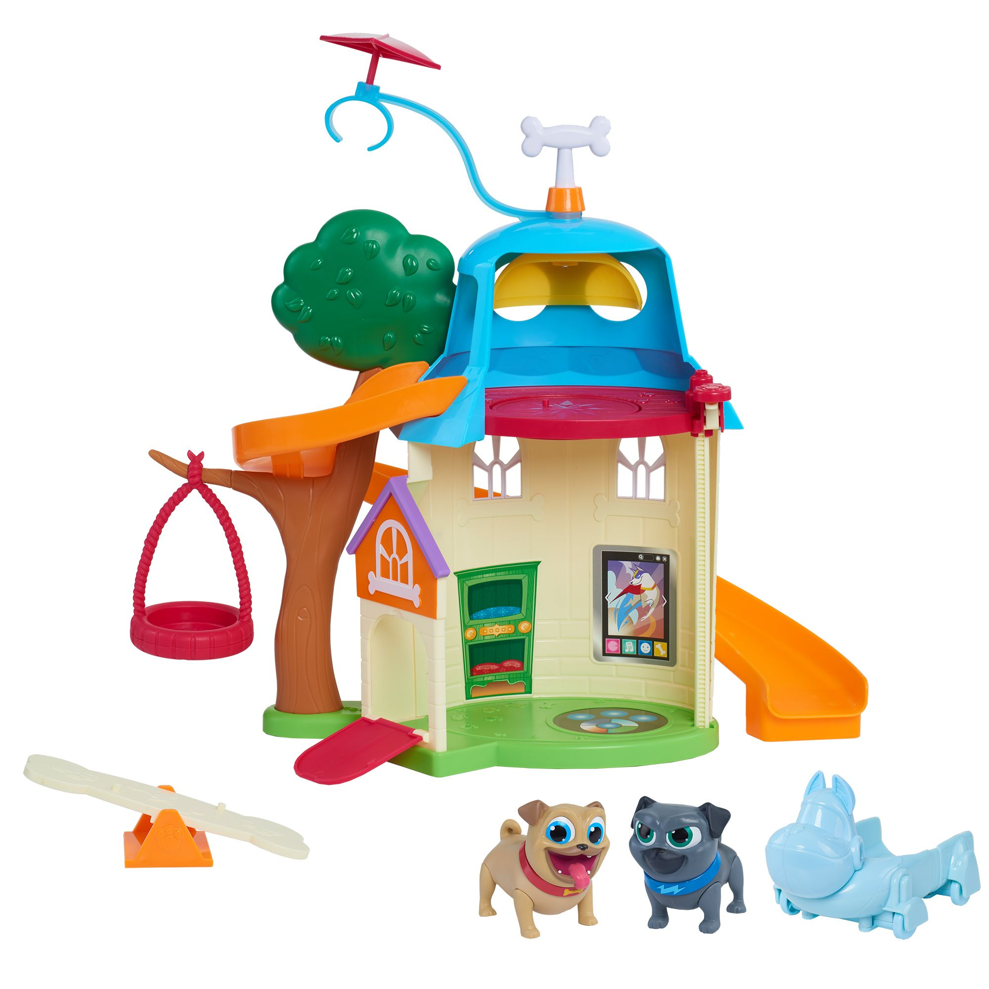 Disney Puppy Dog Pals Doghouse Toy puppies