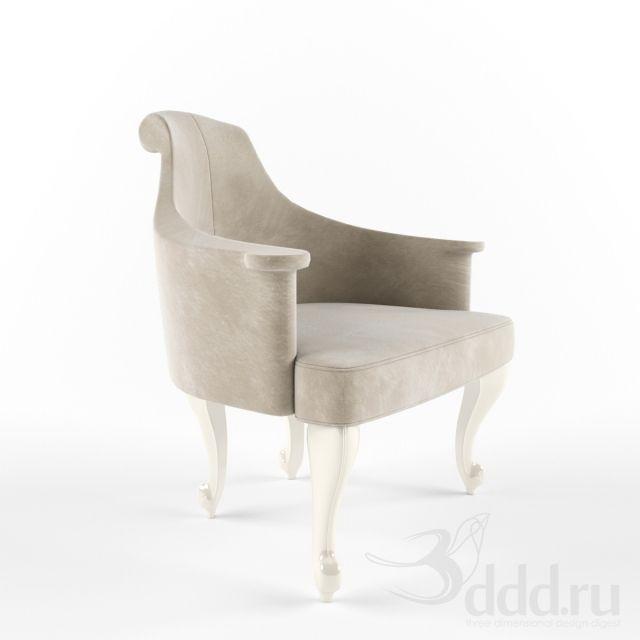 Profi Ipe Cavalli Ziska 3dsmax 2013 Fbx Vray Arm Chair