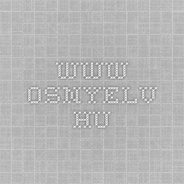 www.osnyelv.hu