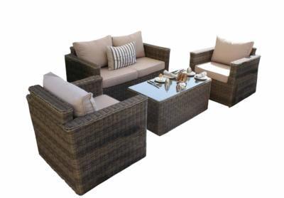 5 Piece 2 Seater Sofa Set Stratford Rattan Effect Garden Furniture Village Only 749