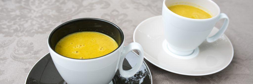 Delicious Golden Milk. Easy to make, delicious and very healthy