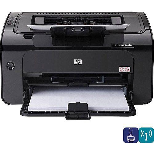 HP LaserJet Pro P1102w Laser Printer - Walmart com