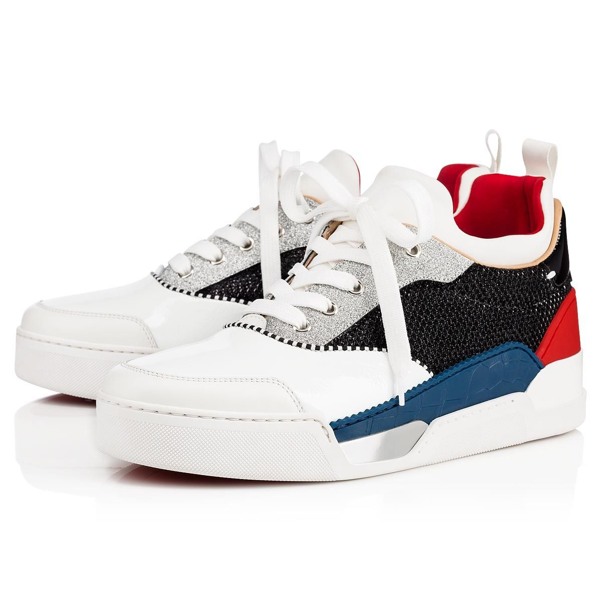 bbf637ab1754 Christian Louboutin United States Official Online Boutique - Aurelien Flat  Version Multi Creative Fabric available online. Discover more Men Shoes by  ...