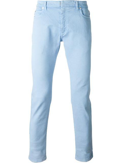 MAISON MARGIELA Classic Skinny Jeans. #maisonmargiela #cloth #jeans