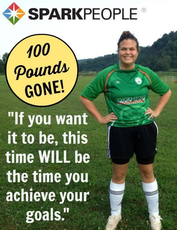 Jan-Marie is such an inspiration. She has lost 100 pounds the HEALTHY way and her story is amazing!