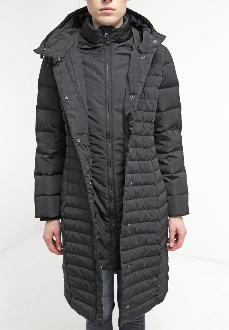 5b4d18ea59 Sisley Down coat - black - Zalando.co.uk