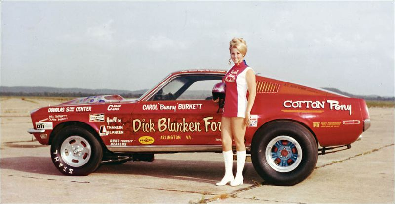 Bunny With The Car That She Raced In The Miss Universe Of Drag