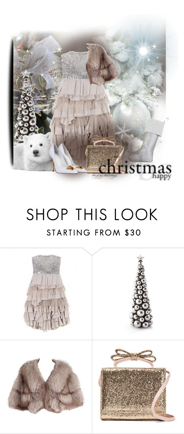 """""""Senza titolo #1509"""" by barbara-gennari ❤ liked on Polyvore featuring Alice + Olivia, RED Valentino and Versace"""