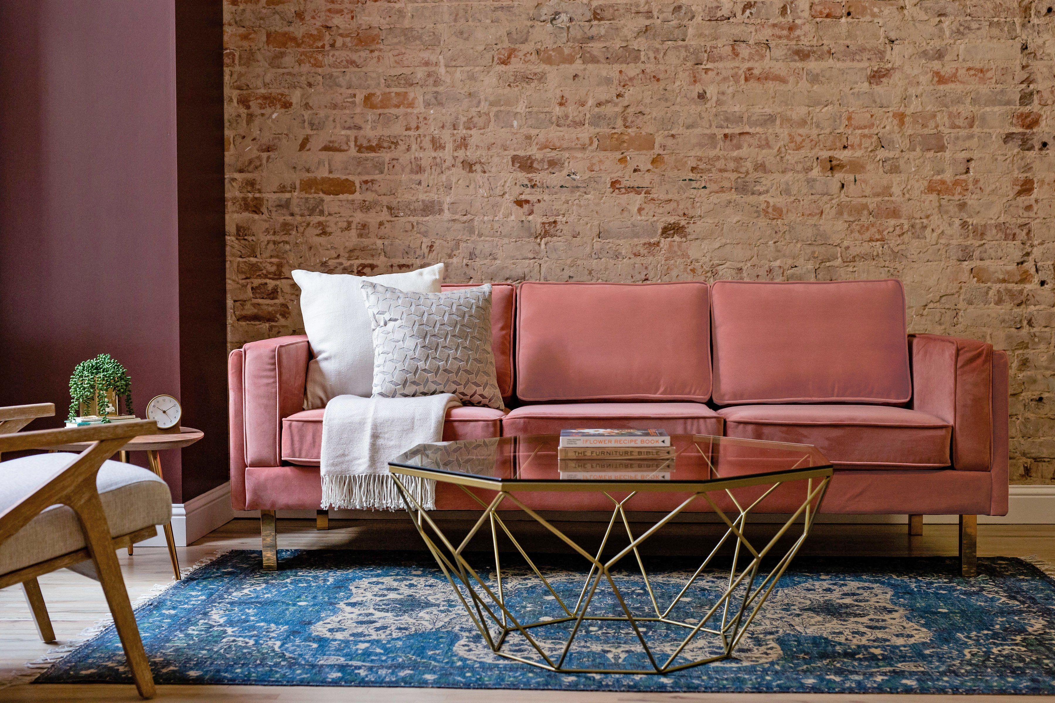 Modern Velvet Sofa Pink Velvet Sofa Beautiful Couch Velvet Sofa [ 2400 x 3600 Pixel ]