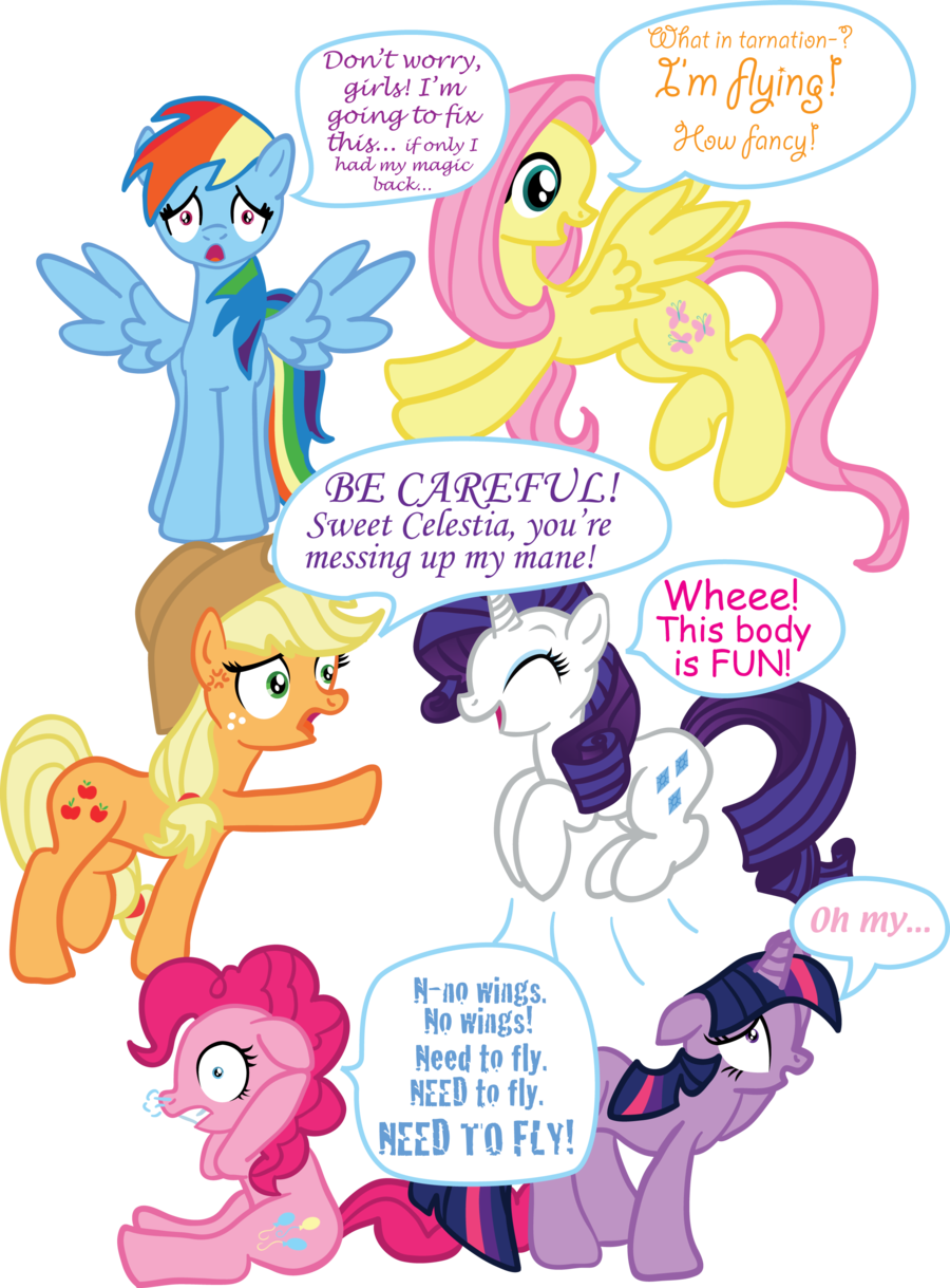Image pinkie pie and fluttershy flying png my little pony fan - Rainbow Dash Is Twilight Rarity Is Pinkie Pie Flutter Shy Is Applejack Rainbow Dash Pinkie Pie Is Rainbow Dash And Twilight Is Fluttershy