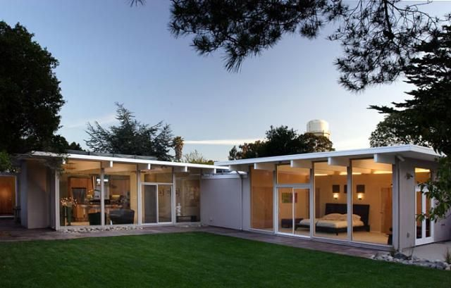 Klopf Architecture - Eichler Addition/Remodel modern exterior | Home ...