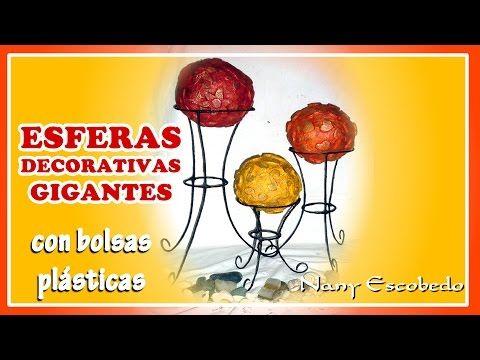 esferas navideas con papel peridico youtube