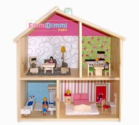 emmidemmixoxo alle puppen in tha house playmobil goes ikea flisat kids bedroom pinterest. Black Bedroom Furniture Sets. Home Design Ideas