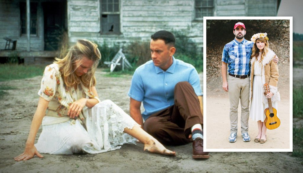 75ca5b6807998 15 Awesome Couples Costumes for Halloween | Forrest Gump | Couple ...