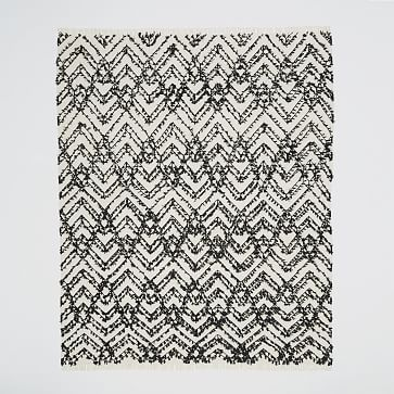 Modern Shag Rug | Handcrafted by skilled weavers in India, the Modern Shag Rug is a work of art for your floors. It's part of west elm Collection—a carefully curated mix of pieces that inspire and transform your space. | West Elm